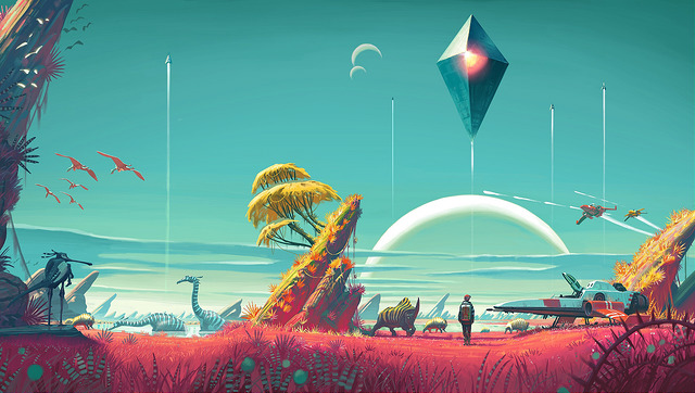 No Man's Sky delayed