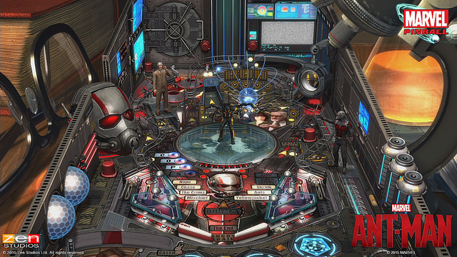 Ant-Man table joins Zen Studios pinball collections