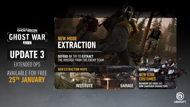 Ghost Recon Wildlands launching Extended Ops