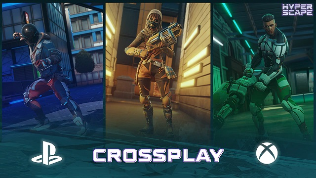 Hyper Scape comes to Epic Games Store and adds cross-play