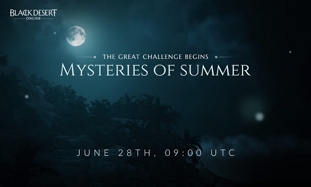 Black Desert Online to explore the Mysteries of Summer