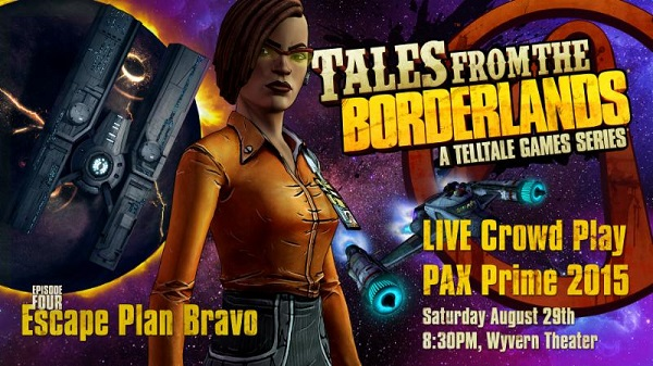 Tales from the Borderlands will be crowd played at PAX