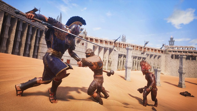 Conan Exiles heading west