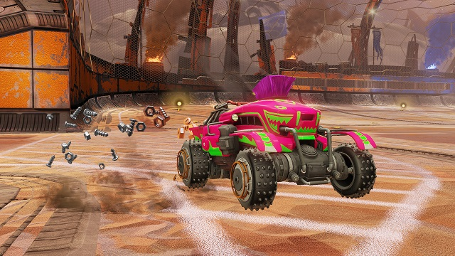 Rocket League going offroad and unleashing Chaos