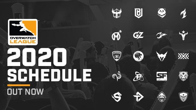 Overwatch League 2020 schedule released