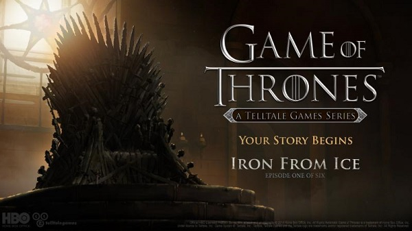 Game of Thrones game launches with Iron From Ice