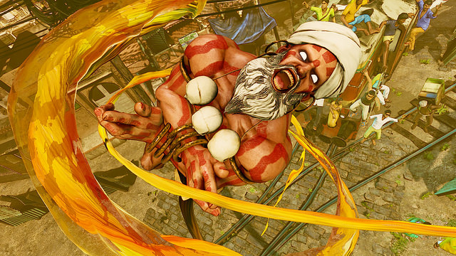 Street Fighter V reveals Dhalsim and launch date