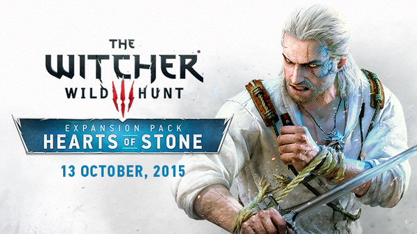 First The Witcher 3 expansion is coming in October