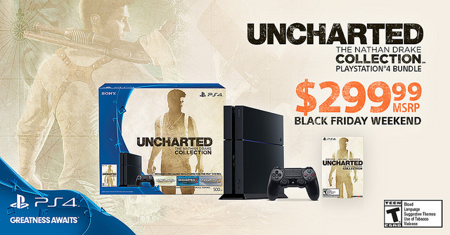 Black Friday deal on Uncharted: The Nathan Drake Collection PS4 Bundle