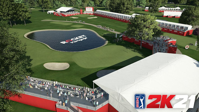 PGA TOUR 2K21 opens Detroit Golf Club for play
