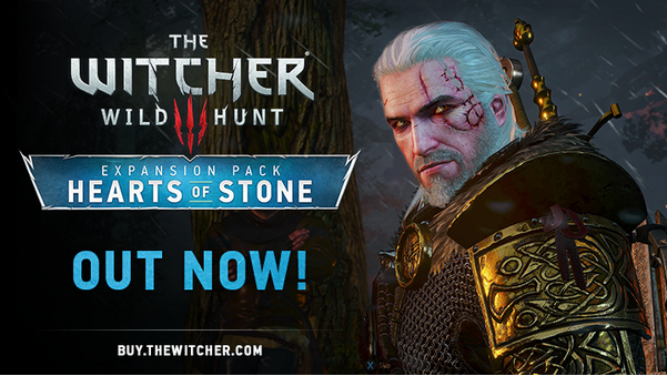 The Witcher faces Hearts of Stone