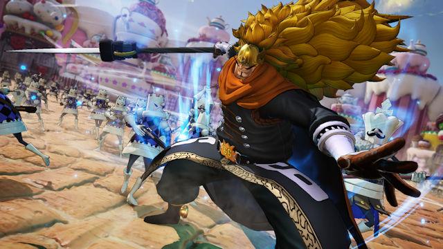 Vinsmoke Judge joining One Piece: Pirate Warriors 4