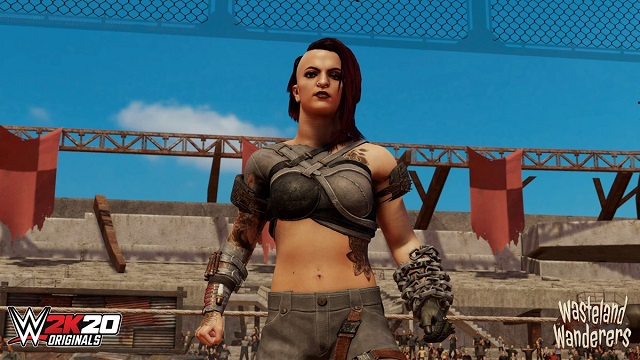 WWE 2K20 wanders the wasteland