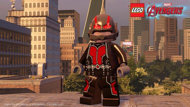 Ant-Man joins LEGO Marvel's Avengers