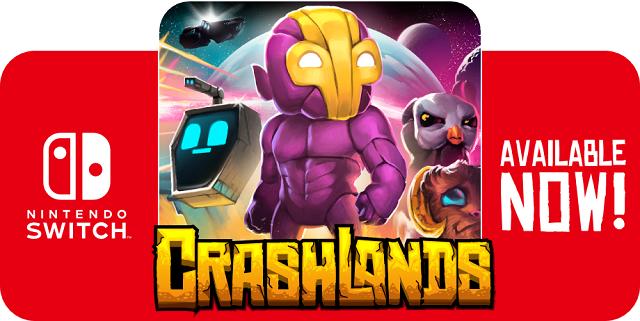 Crafting Crashlands comes crashing onto Switch