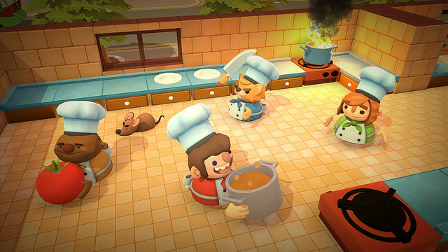 Overcooked will be served up in August