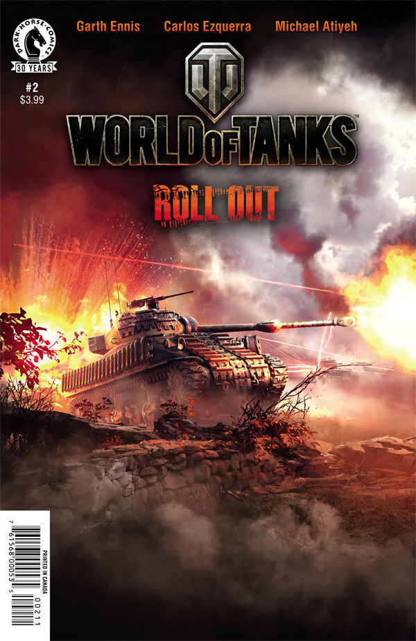 New World of Tanks comic released with game code