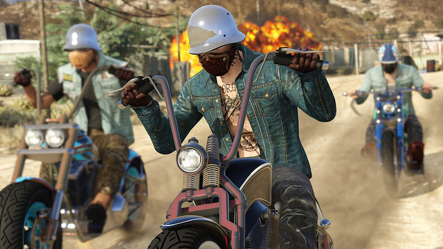 Bikers ride into Grand Theft Auto Online