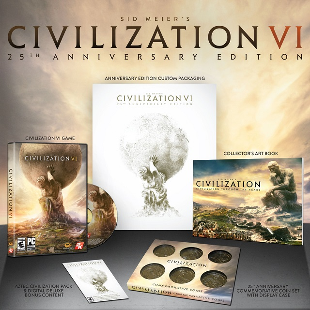 Civilization VI 25th Anniversary Edition announced