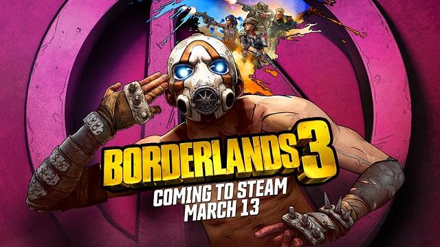 Borderlands 3 lands on Steam