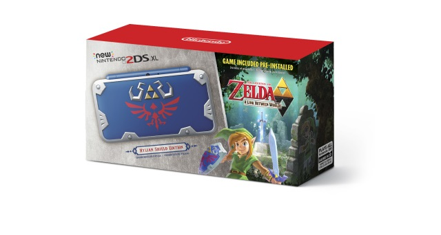 Nintendo announces new Zelda-themed 2DS XL System