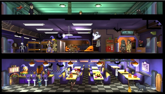 Fallout Shelter adds themes and holiday celebrations