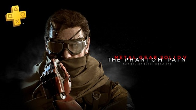 The Phantom Pain included in free PlayStation Plus games in October