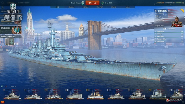 Alexander Ovechkin taking command in World of Warships