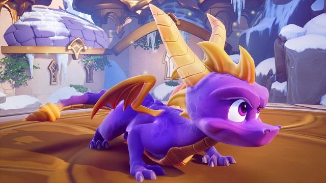 Spyro's back