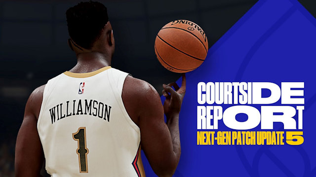 NBA 2K21 patched on next-gen