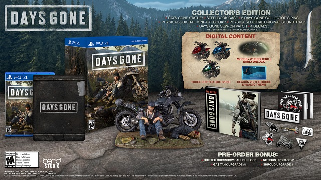 Days Gone special editions announced