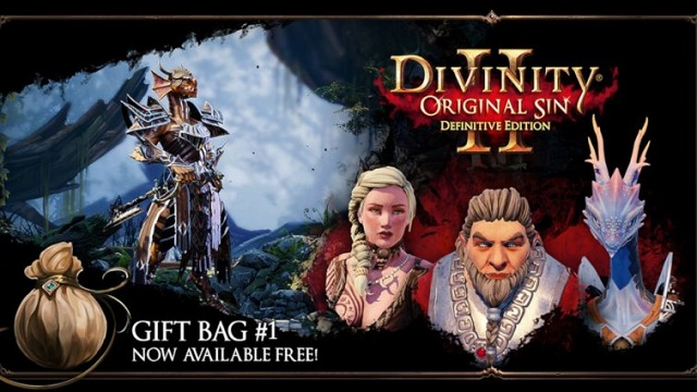 Divinity: Original Sin 2 drops gift bag for players