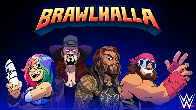 WWE Superstars crossing over into Brawlhalla