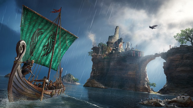Assassin's Creed Valhalla sets sail Holiday 2020