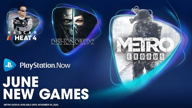 Three new games join PlayStation Now in June