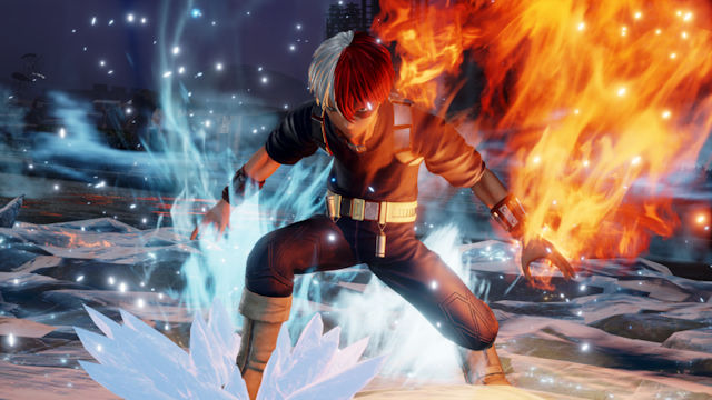 Shoto Todoroki joining Jump Force