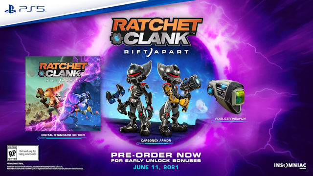 Ratchet & Clank: Rift Apart launches in June