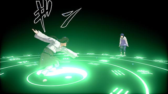 Neji Hyuga joining the Shinobi Strikers