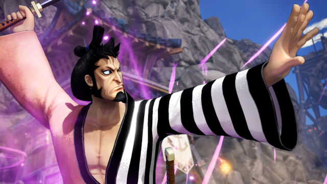 Kin'emon coming to One Piece: Pirate Warriors 4