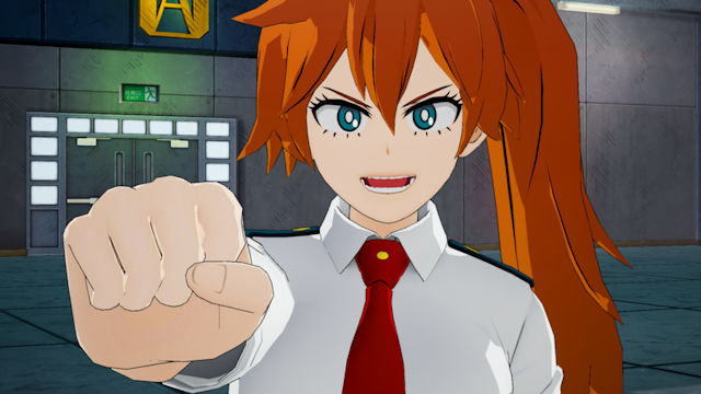 Itsuka Kendo bringing her battle fist to My Hero One's Justice 2