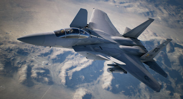 Experimental Aircraft inbound to Ace Combat 7