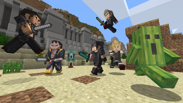 Final Fantasy XV comes to Minecraft on all platforms