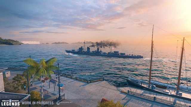 World of Warships celebrates third anniversary with a new update