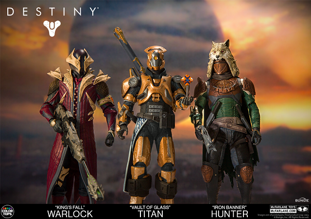 McFarlane Toys unveils line of Destiny action figures