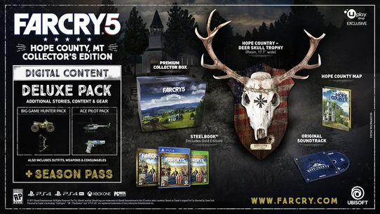 Far Cry 5 Collector's Edition unveiled