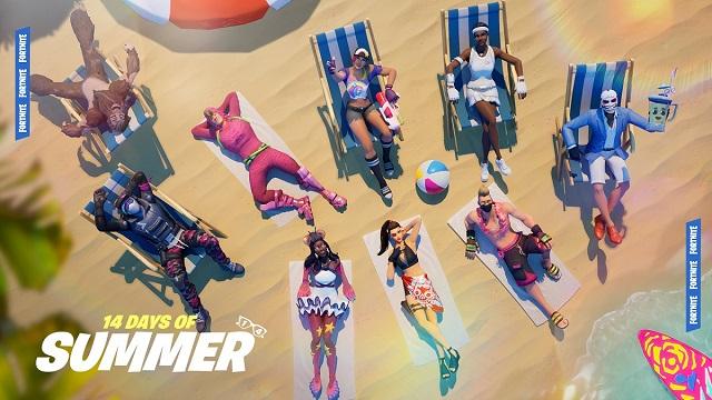 Fortnite kicks-off 14 Days of Summer