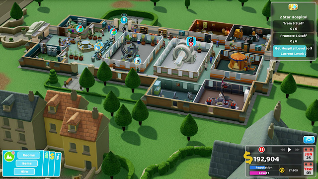 Two Point Hospital coming to consoles in February