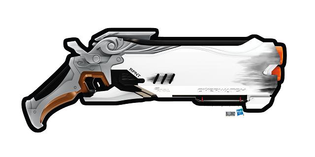 NERF creating a blaster based on Reaper's shotgun