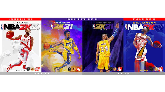 Kobe Bryant named third NBA 2K21 cover athlete