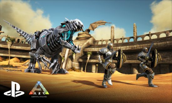 ARK: Survival Evolved released on PlayStation 4